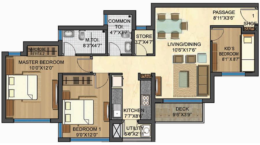 Om Sai Siddhi Properties Casa Bella